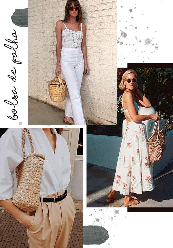 bag - straw - fashion - looks - summer