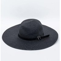 SLEEVE STRAIGHT HAT WITH BELT