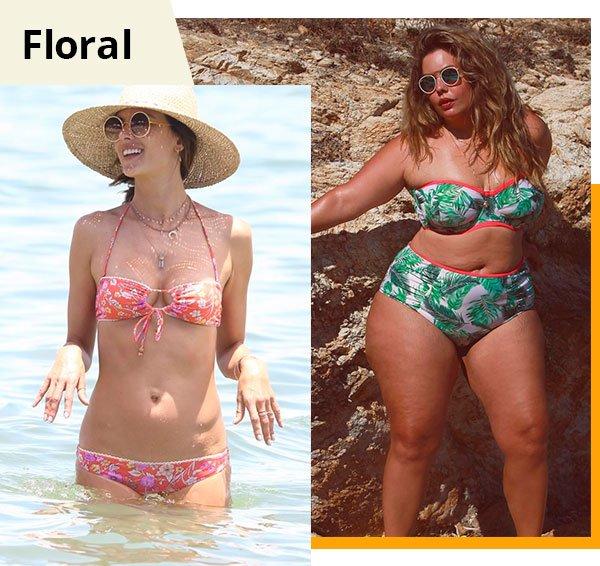 floral - beachwear - biquini - verao - praia