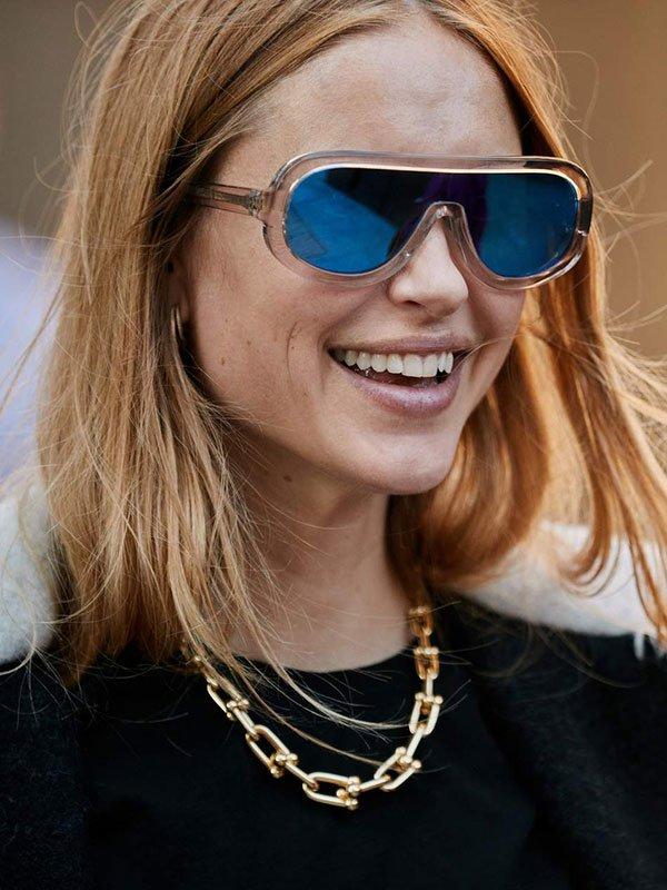 Pernille Teisbaek - colar-corrente - corrente - verão - street-style