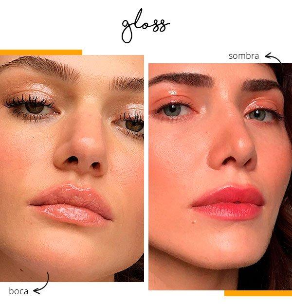 gloss - usar - dois - jeito - rosto