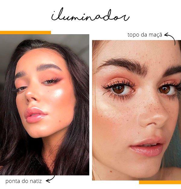 iluminador - moda - look - jeito - usar