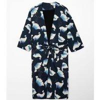 Kimono Estampado com Amarração