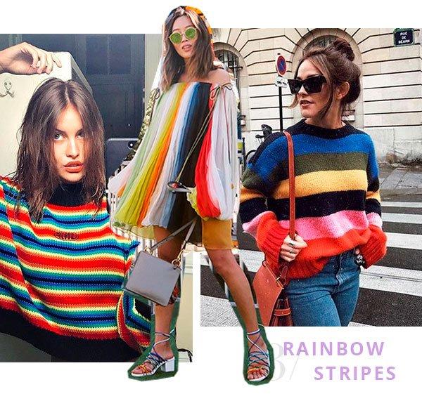 rainbow - stripes - looks - moda - trend