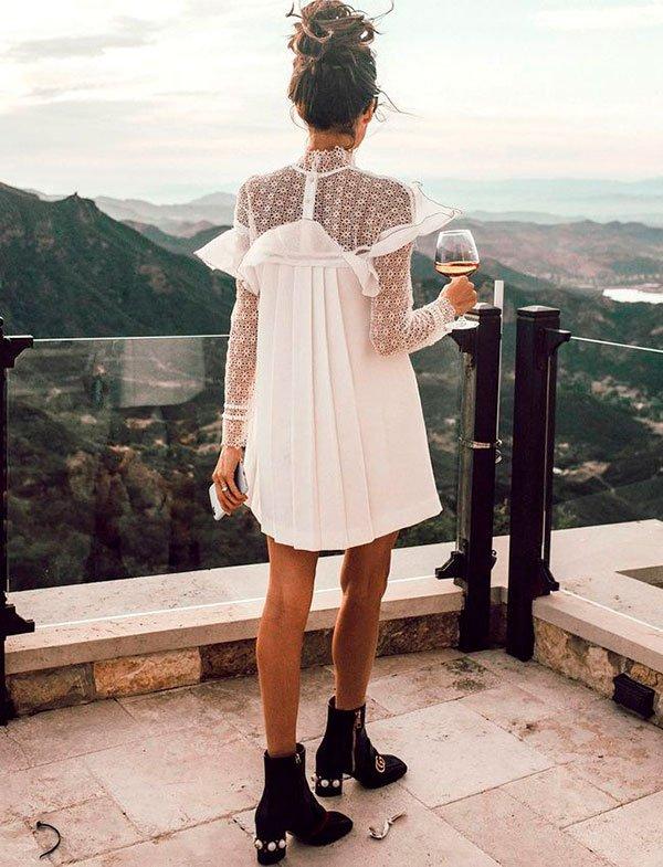 it-girl - vestido-branco-bota - vestido-branco - verão - street-style