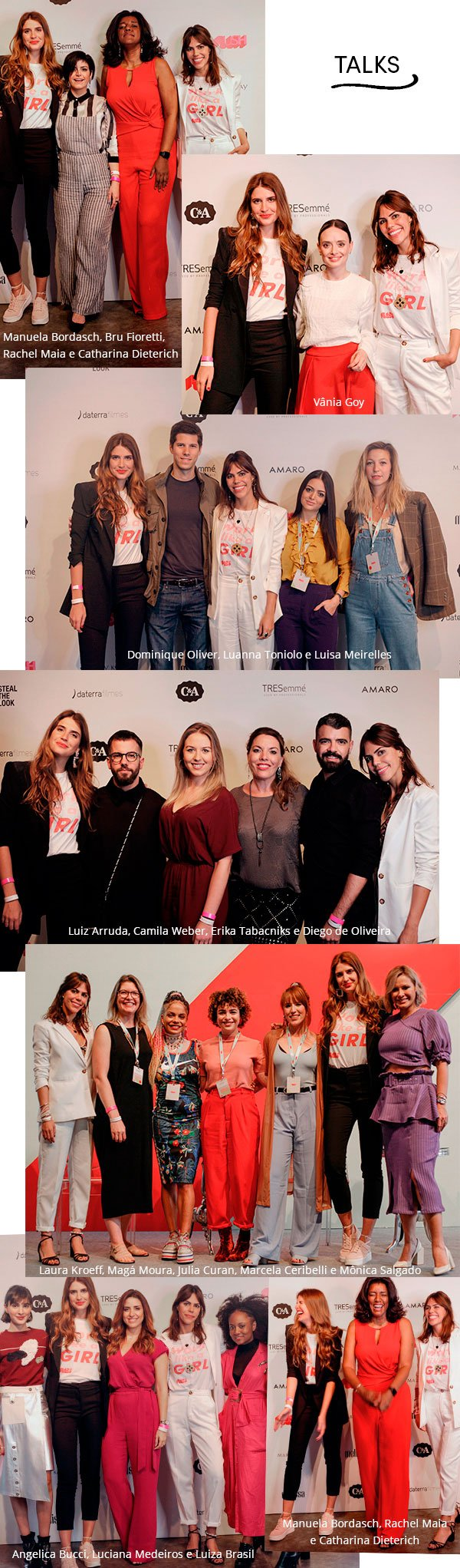 talks - push - looks - moda - evento