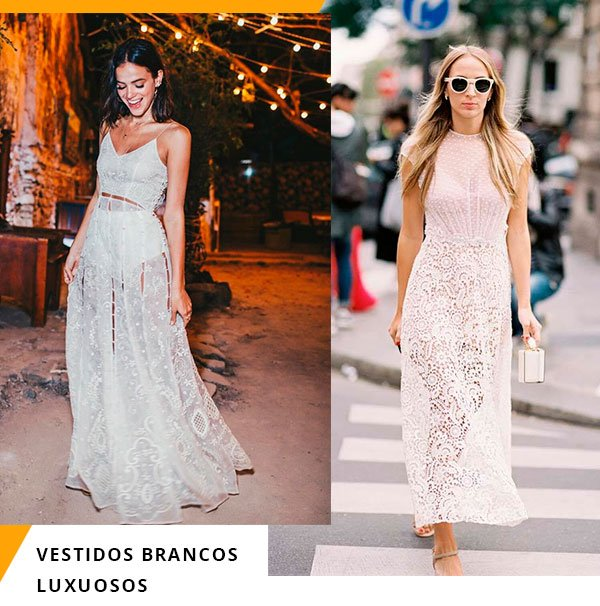 vestido - branco - fest - llooks - verao