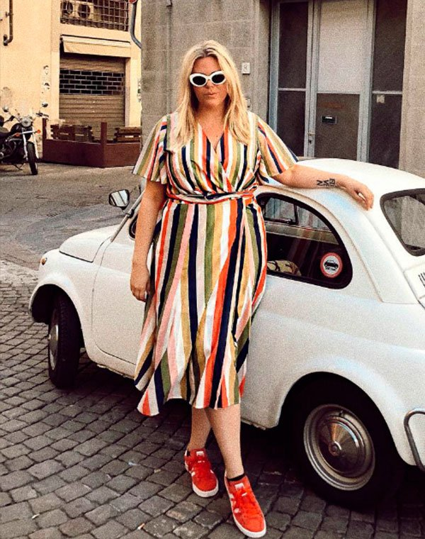 vestido - colorido - trend - comprar - moda