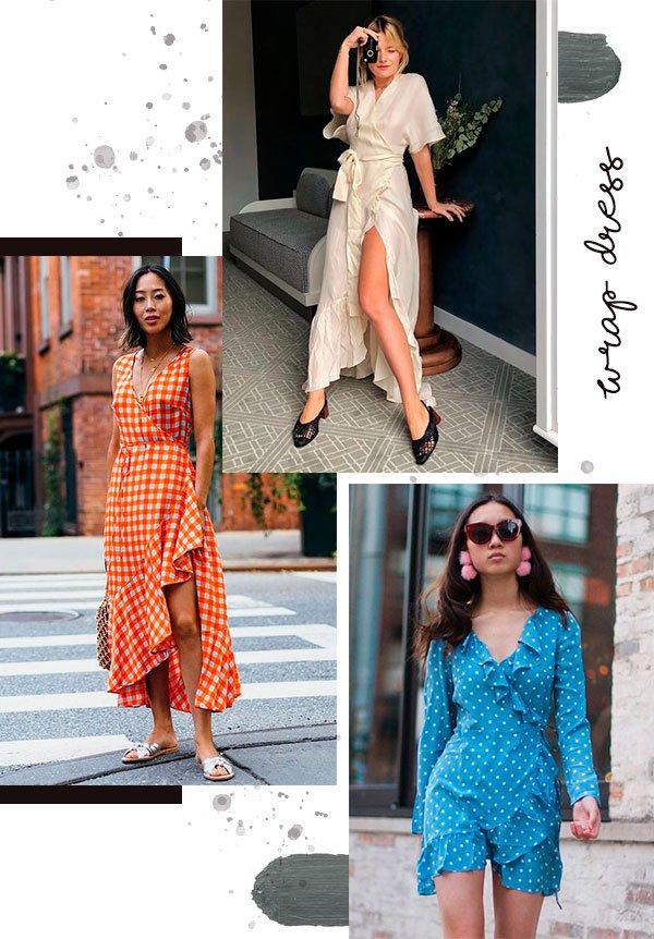 wrap - dress - trend - summer - looks