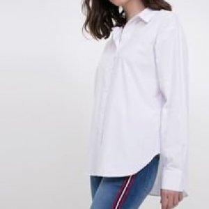 Camisa Tricoline Off white