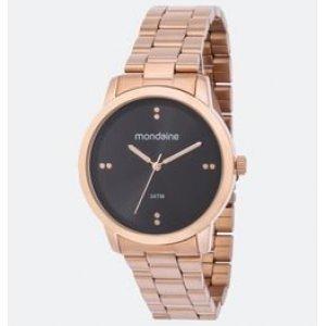 Relógio Feminino Mondaine 53720LPMGRE2K Analógico 3ATM + Conjunto Semijóia