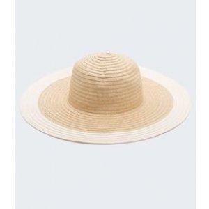Chapéu de Palha Bicolor