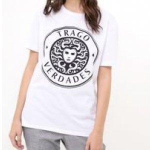 T Shirt com Estampa Trago Verdades