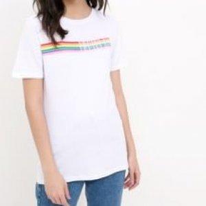 T Shirt com Escrita Nem Vem que Eu sou Bem Louca