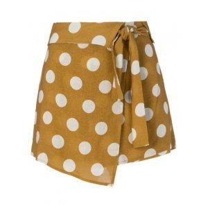 Shorts Saia De Linho