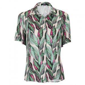 Camisa Manga Curta De Viscose