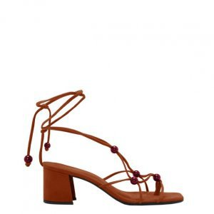 Sandal Tie With Polka Dots