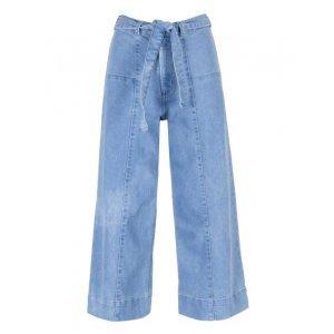 Calça Jeans Wide Amarração Sustentável