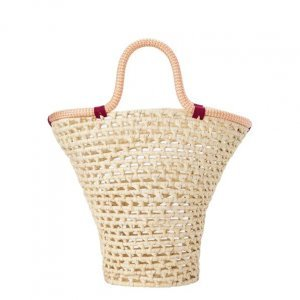 Straw Bag And Fia String