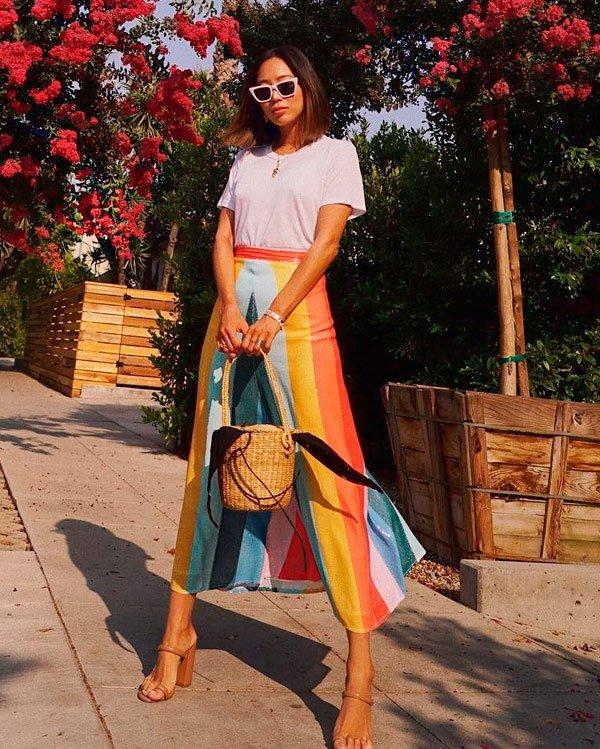 Aimee Song - camiseta-branca - t-shirt - verão - street-style