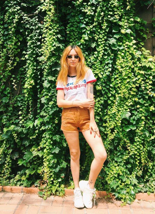 Aline Santos - jeans - jeans - verão - street style 2018
