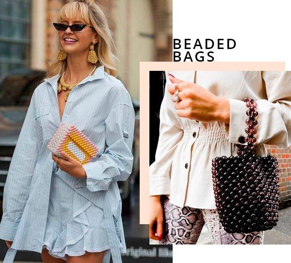 it-girl - bolsa - beaded bag - verão - street-style