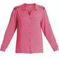 Camisa com Tiras nos Ombros Pink Quintess