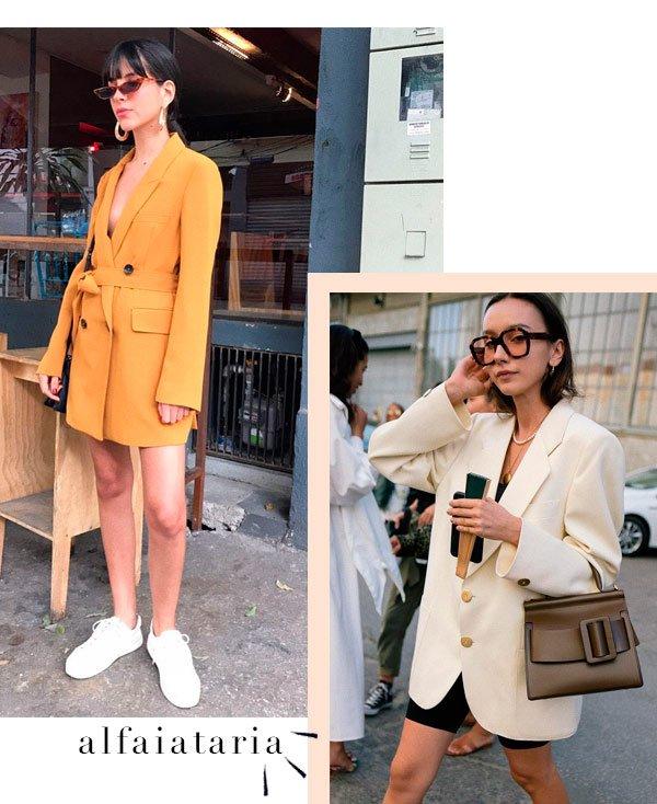 Nathalie Billio, Beatrice Gutu - blazer - blazer - verão - street-style