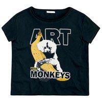 T-Shirt Em Malha De Algodão Estampada