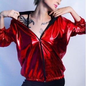 Jaqueta Red Metallic Tamanho: M - Cor: Vermelho