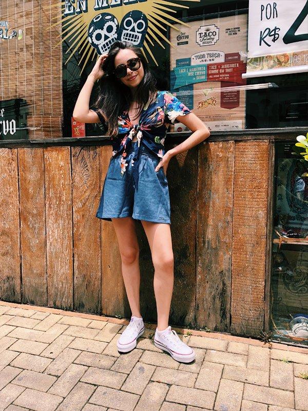 Giovana Marçon - jeans - jeans - verão - street style 2018