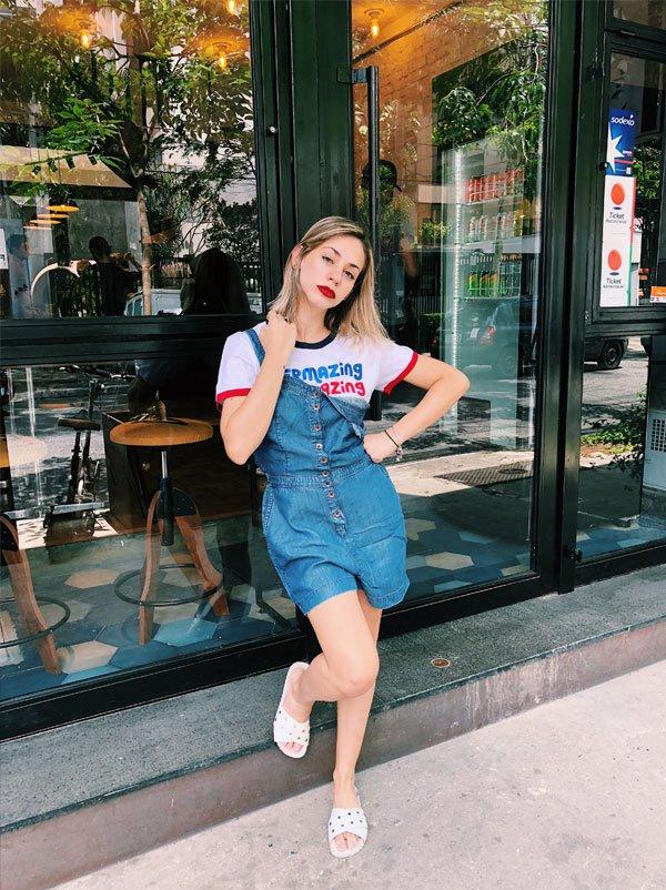 Larissa Cobra - jeans - jeans - verão - street style 2018