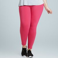 Calça Legging Alto Giro New Zealand Plus - Rosa