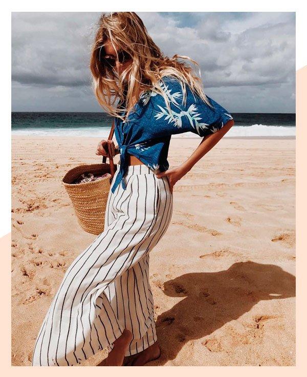 it-girl - camisa-praia - camisa - verão - street-style