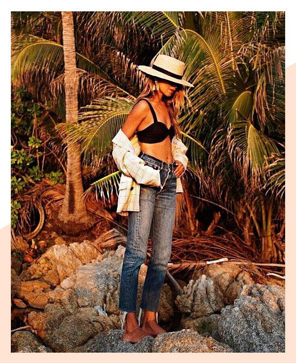Julie Sarinana - biquini-jeans - verão - verão - street-style