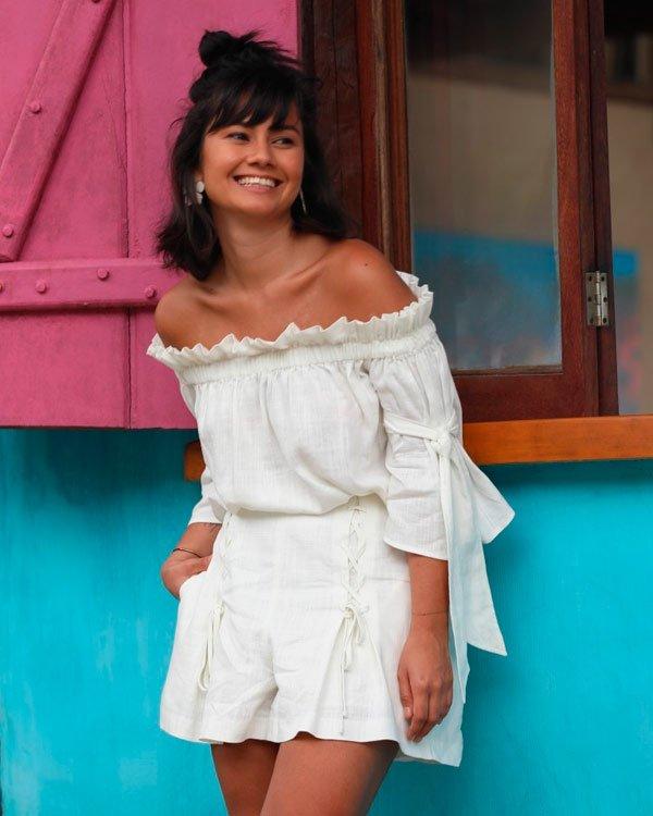 Mayra Obara - all-white - all-white - verão - street-style