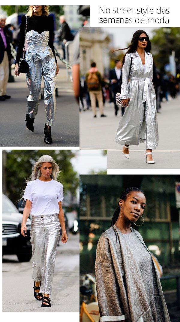 it-girls - metalizado - metalizado - todas - street style 2018