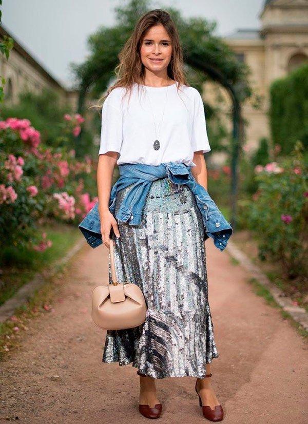 Miroslava Duma - camiseta-branca - t-shirt - verão - street-style