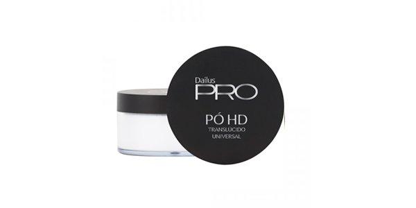 PÓ HD TRANSLÚCIDO UNIVERSAL DAILUS PRO - 100256 - maquiagem - pó-facial - verão - dailus