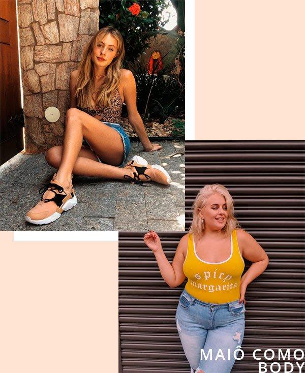 Lais Oliveira, Felicity Hayward - maiô - maiô - verão - street-style