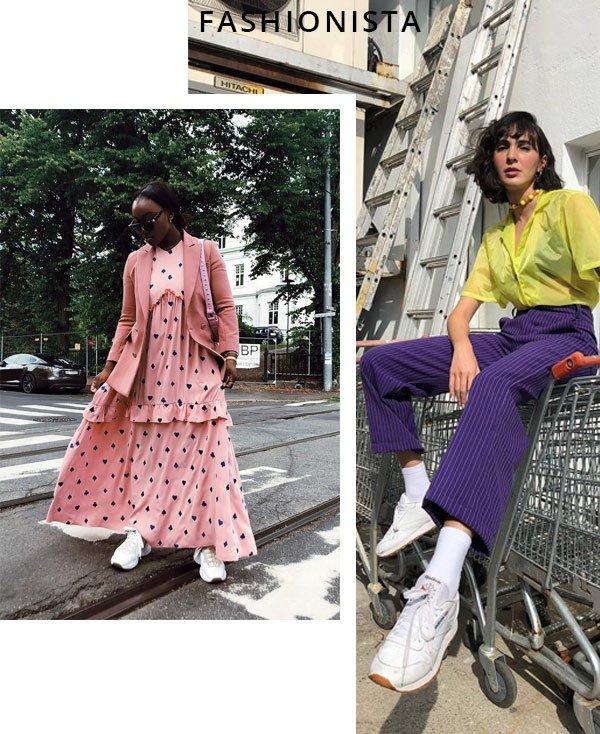 Angelica Bucci e Nnena Echem - tênis - tênis - verão - street style 2018