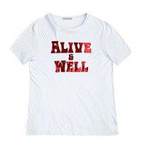 T-Shirt Em Malha De Viscose Estampada