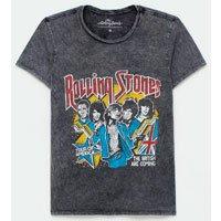 T Shirt com Estampa Rolling Stones