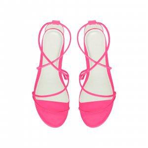 Rasteira Cicy Neon Pink Tamanho: 40 - Cor: Rosa