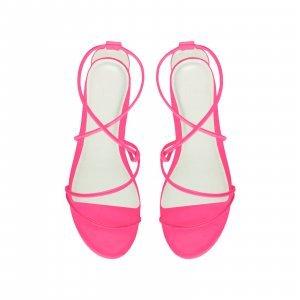 Rasteira Cicy Neon Pink Tamanho: 41 - Cor: Rosa