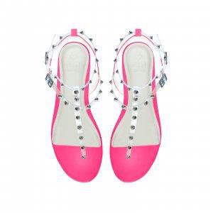 Rasteira Sorrento Neon Pink Tamanho: 41 - Cor: Rosa