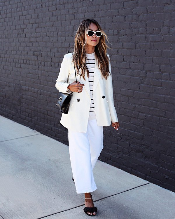 Julie Sarinana - blazer - blazer - verão - street-style