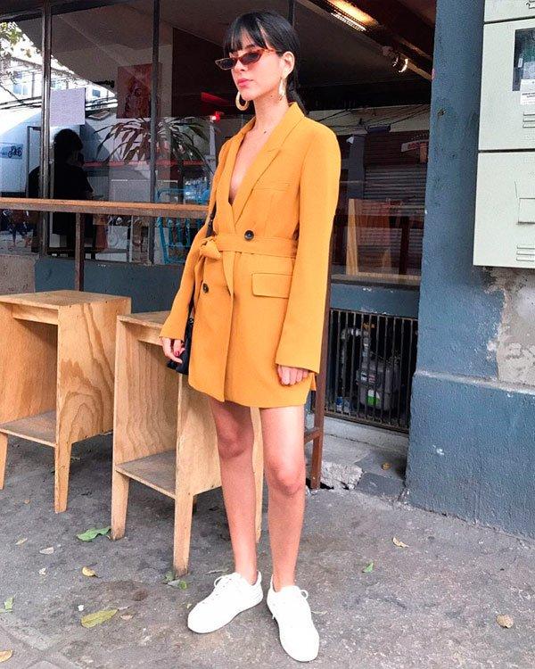 Nathalie Billio - blazer - blazer - verão - street-style