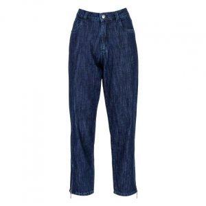 Calça Jeans Mom Zíper Lateral