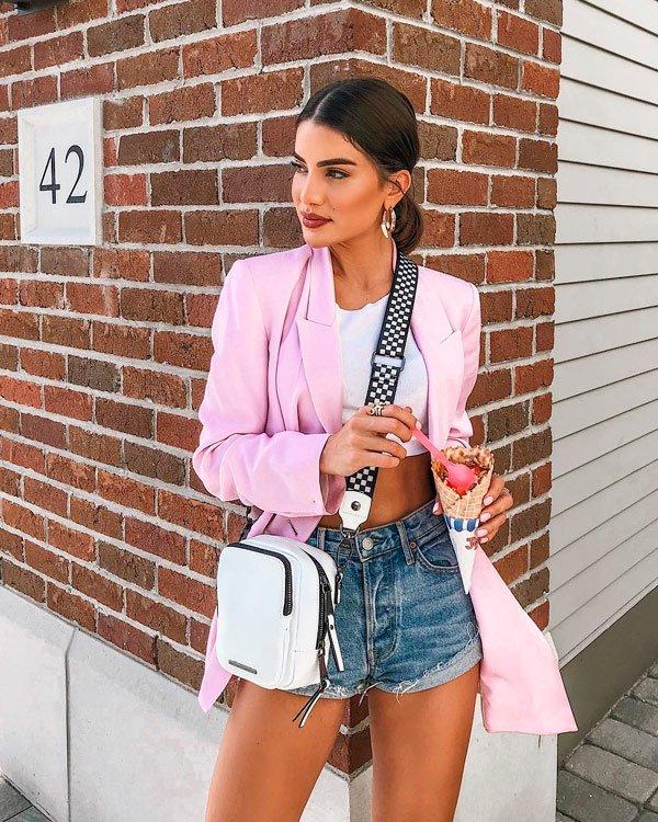 Camila Coelho - blazer - blazer - verão - street-style